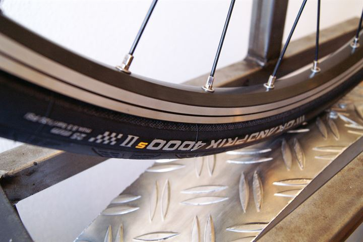 Continental Grand Prix 4000S II Rolling Resistance Review