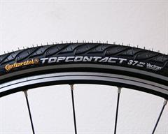 Continental Top Contact II Touring/E-Bike on a rolling resistance test machine