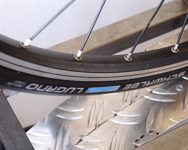 Schwalbe Lugano Rolling Resistance Review