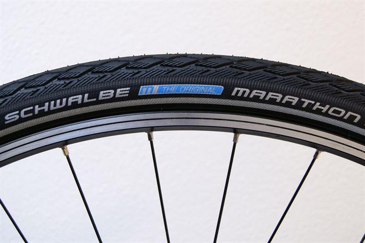Tire Size Comparison >> Schwalbe Marathon (GreenGuard) Rolling Resistance Review